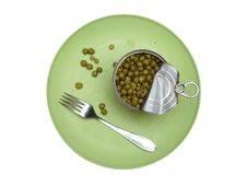Free Peas Royalty Free Stock Image - 19017666