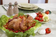 Free Taesty Chicken Food Royalty Free Stock Photos - 19017798