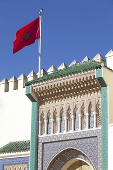 Free Palace In Fez In Marocco Royalty Free Stock Images - 19017849