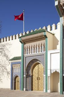 Free Palace In Fez In Marocco Royalty Free Stock Photo - 19017895