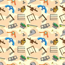 Free Seamless Park Playground Pattern Stock Image - 19017991