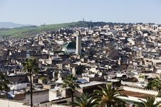 Free Cityline Of Fes In Marocco Stock Photography - 19018402