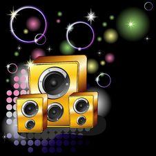 Free Night Party Music Stock Photos - 19018523