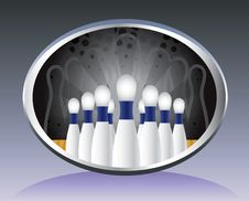 Free Bowling Background. Stock Images - 19018894