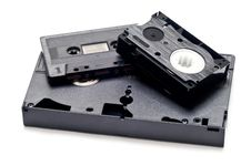 Free Old Media Storage Carriers Stock Photos - 19019113