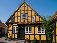 Traditional Old Danish House Stock Photo