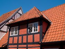 Traditional Old Danish House Royalty Free Stock Photos