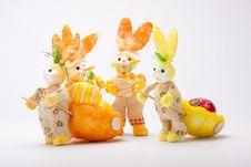 Free Bunnies Team Stock Photos - 19019583
