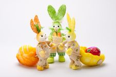 Free Working Bunnies Royalty Free Stock Images - 19019789