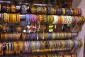 Free Fashion Bangles In A Market Stock Images - 19027704