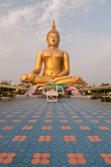Huge Buddha Image Stock Image