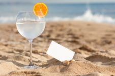 Free Drink On The Bech Stock Images - 19020914