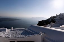 Free Gorgeous View Of Romantic Santorini Royalty Free Stock Photos - 19021538