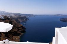 Free Gorgeous View Of Romantic Santorini Royalty Free Stock Photos - 19021548