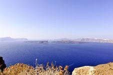 Free Gorgeous View Of Romantic Santorini Stock Photography - 19021572