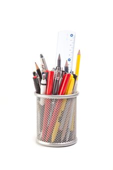 Free Pens And Pencils Stock Photo - 19021800