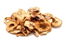 Dried Apple Slices Royalty Free Stock Images