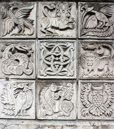 Free Bas-reliefs Of Animals Stock Image - 19023281