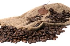 Free Cofee Bean Royalty Free Stock Image - 19024066