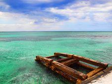 Free Caribbean Dock Stock Photography - 19026082