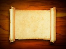 Free Old Paper   On Wood Texture With Natural Patterns Royalty Free Stock Image - 19026126