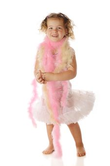 Petticoat Swish Royalty Free Stock Photography