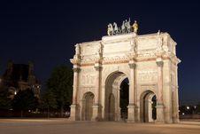 Free Carousel Arc De Triomphe Royalty Free Stock Photo - 19026405