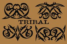 Free Tribal Element Design Stock Photos - 19026473
