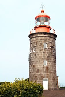 Free Stone Build Lighthouse Royalty Free Stock Photo - 19027375