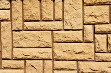 Free Wall Lined With Stone Tiles Stock Image - 19027671