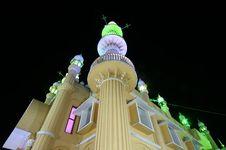 Free Muslim (Arab) Mosque, Kovalam, Kerala, India Royalty Free Stock Image - 19028196