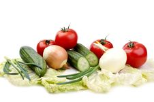 Free Fresh Vegetables Royalty Free Stock Images - 19028539