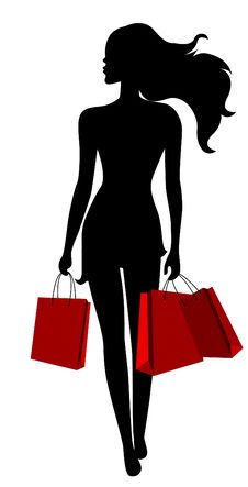 Free Young Woman  With Bags Royalty Free Stock Photos - 19028598