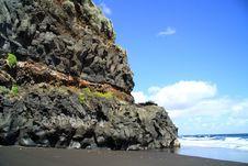 Lava Stones Royalty Free Stock Image