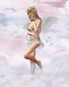 Free Sad Angel Stock Photo - 19029680