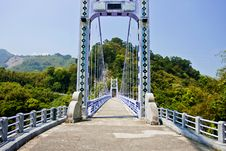 Free A Suspension Bridge Royalty Free Stock Photos - 19029888