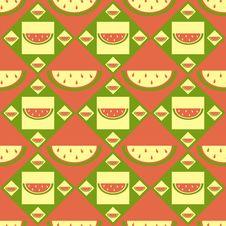 Free Cute Melon Pattern Stock Image - 19030291