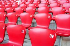 Free Beijing National Stadium Chair Stock Image - 19030361