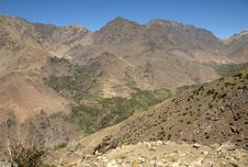 Free Berber Village In The High Atlas Montains Stock Photography - 19030892