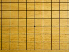 Grid Go Game Board Royalty Free Stock Photography