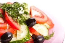 Free Fresh Greek Salad Stock Photo - 19031260