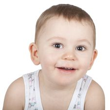 Free Smiling Baby Boy Royalty Free Stock Photos - 19032468