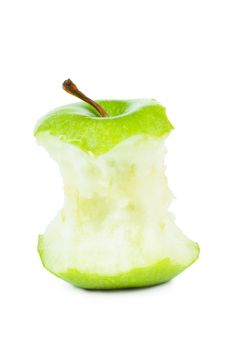 Core Of An Apple Royalty Free Stock Photo