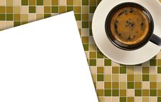 Cpaper Offee Cup Stock Photography