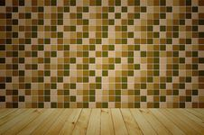 Free Mosaic Wooden Room Stock Image - 19032971