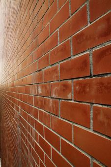 Free Brick Perspective Royalty Free Stock Photos - 19034198
