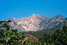 Mountains Nea Faralya Stock Photography