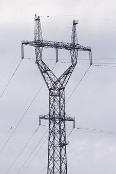 Free Power Transmission Pole Stock Photos - 19034713