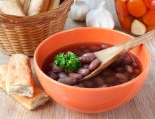Free Bean Soup. Royalty Free Stock Photos - 19034958