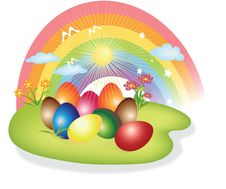 Free Easter Eggs Royalty Free Stock Photography - 19034967